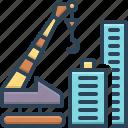 architecture, constructing, construction, crane, crane building, innovation, tower