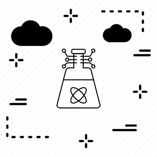 artificial, beaker, intelligence icon
