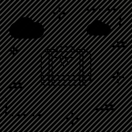 briefcase, business, portfolio icon