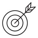 consultation, target, mission, arrow, goal icon