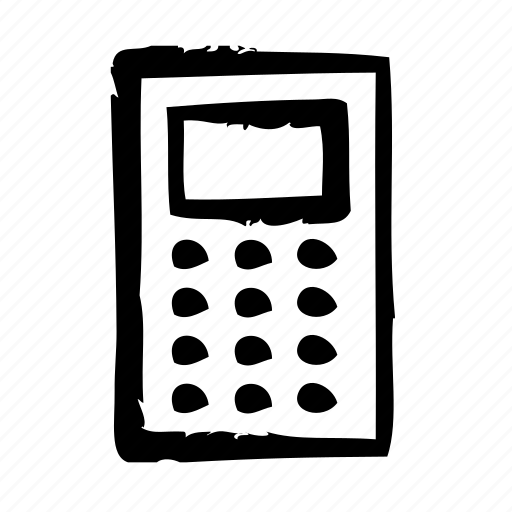 calculator, devices, electronics, products, technology icon