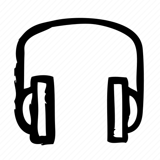 devices, electronics, headphone, products, technology icon