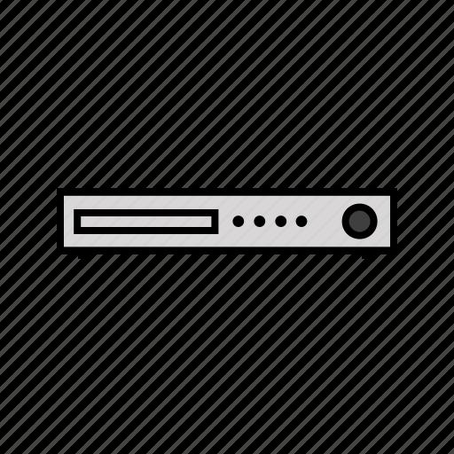 cinema, consumer electronics, dvd, movie, player, video icon