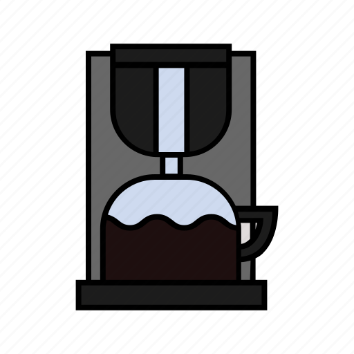 coffee, consumer electronics, cook, cooking, kitchen, maker icon
