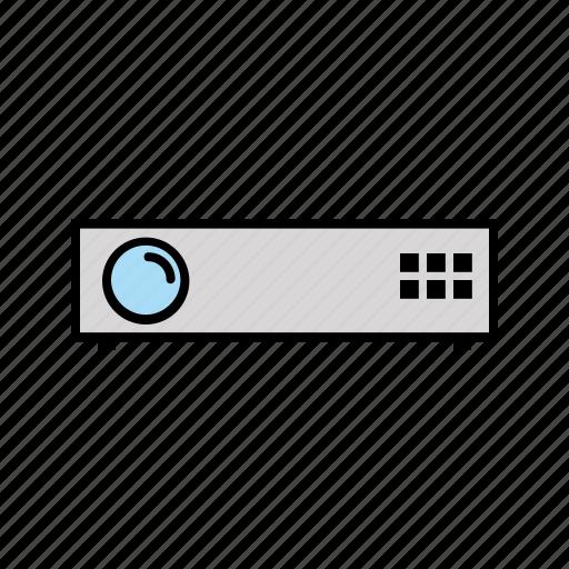 cinema, consumer electronics, movie, projector icon