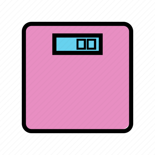 consumer electronics, weigher, weight icon