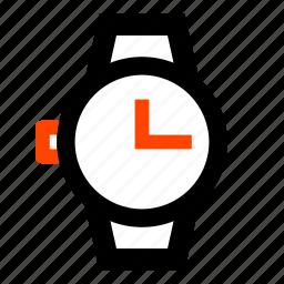clock, event, hand watch, hours, minutes, watch, wrist watch icon