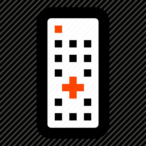 control, convenient, remote control, television, tv remote, wireless icon