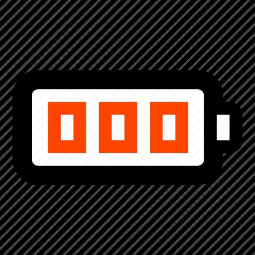 battery, battery energy, battery full, full battery, indicate, level icon