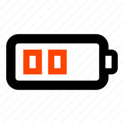 battery, battery energy, battery level, indication, level, recharge icon
