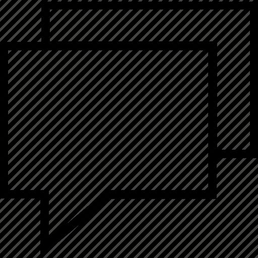 bubbles, chat, conversation, discussion, forum icon