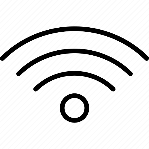 connection, internet, signal, waves, wifi icon