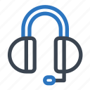 communication, contact, customer service, earphone, headphone, headphones icon