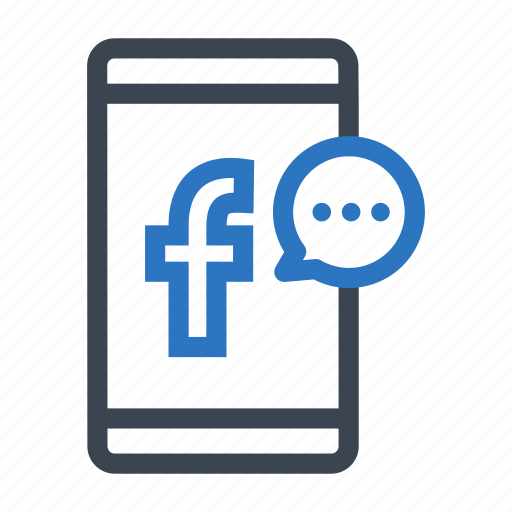 chat, communication, contact, facebook, message, messenger icon