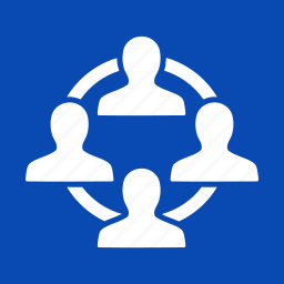 contacts, friends, men, people, user group, users, webinar icon