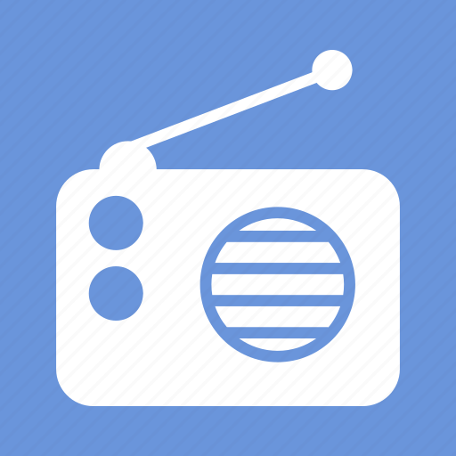 audio, radio, radio set, signal, speaker, wifi, wireless icon