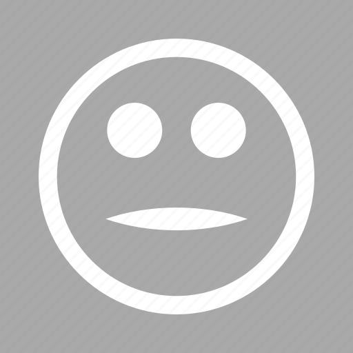 avatar, emoticon, emoticons, emotion, face, neutral smile, smiley icon