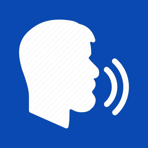 chat, speak, speaker, speech, talk, talking, voice icon