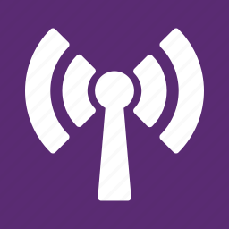communication, internet, network, transmitter, wi fi, wi-fi signal, wifi connection icon