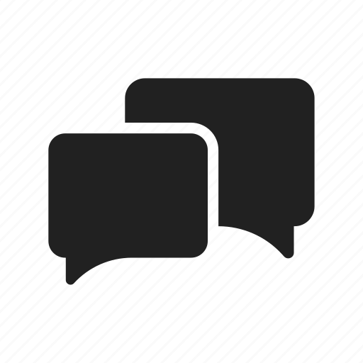 black, chat, contact, discussion, message, phone, smart phone, vector icon