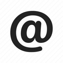 address, black, contact, email, message icon