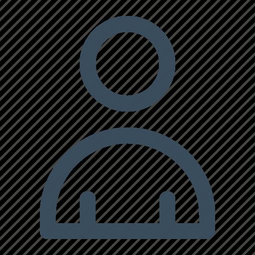 contact, man, person, profile, user icon
