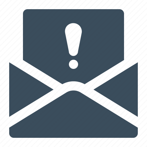 envelope, important, inbox, letter, mail icon