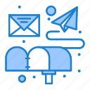 box, email, letter, mail