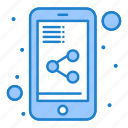document, mobile, share
