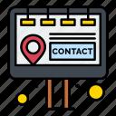 billboard, contact, marketing