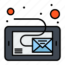 email, inbox, message, tablet
