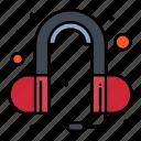 ear, head, phone, sound