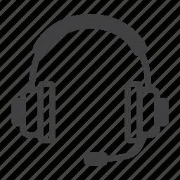 audio, contact, earphone, headphone, operator, support icon