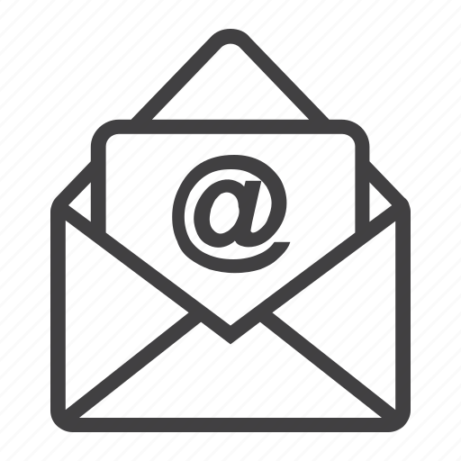 address, email, envelope, letter, message, send, web icon