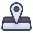 maps, place, location, map, pin, navigation, gps