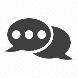 bubble, chat, communication, internet, message, networking, speech icon