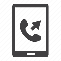 call, communication, contact, outgoing, phone, telephone, us icon