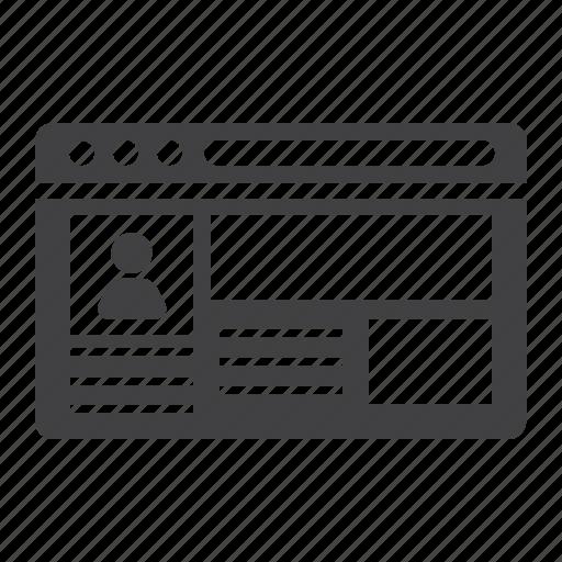 account, avatar, log, person, profile, sign, user icon