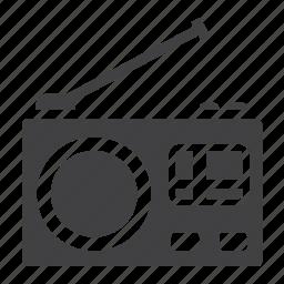 antenna, communication, fm, media, radio, sound, speaker icon