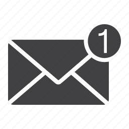 address, email, envelope, letter, message, new, web icon