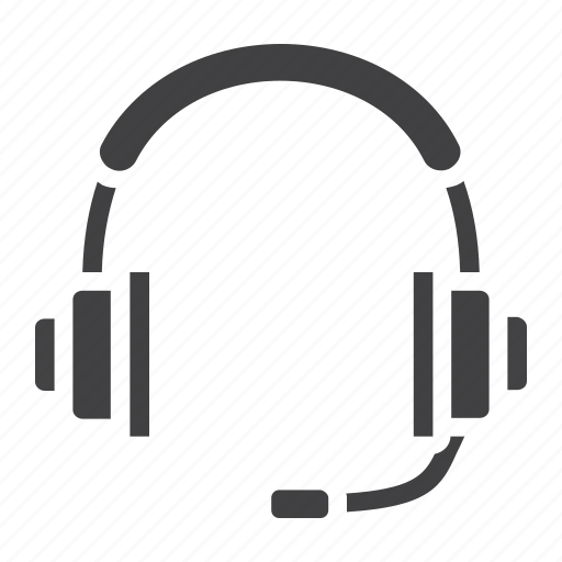 audio, contact, earphone, headphone, operator, support icon