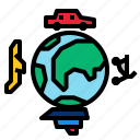 global, transportation icon