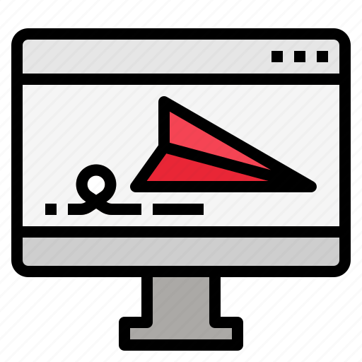 landing, page icon