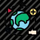 globe, media, social