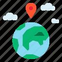 gps, location icon
