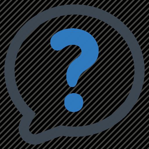 faq, inquiry, question icon