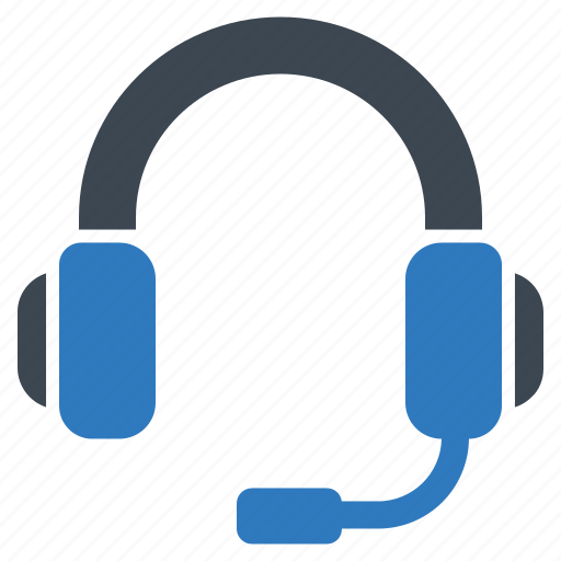 call center, contact us, headphones icon