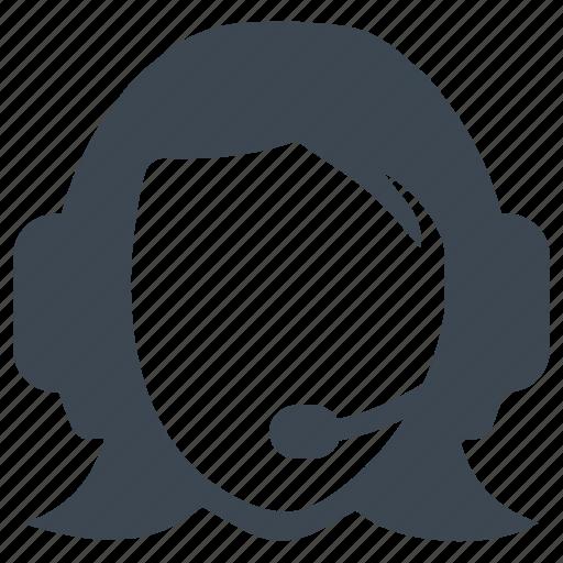 call center, consultant, customer, support icon