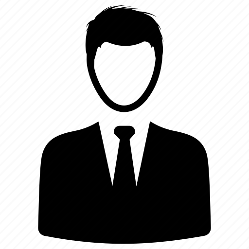 Businessman, manager, consultant icon