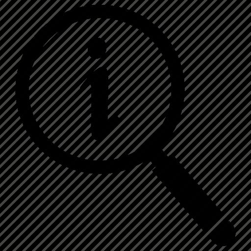 details, info, information icon